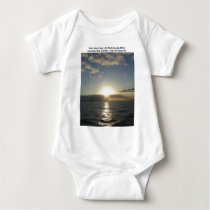 Glorious Silence Baby Bodysuit