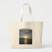 Glorious Silence Large Tote Bag