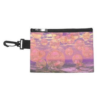 Glorious Skies – Pink and Yellow Dream Abstract Accessory Bags