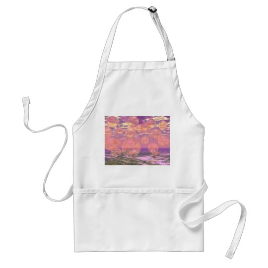Glorious Skies – Pink and Yellow Dream Adult Apron