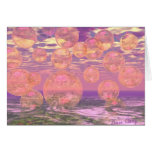 Glorious Skies – Pink and Yellow Dream Stationery Note Card
