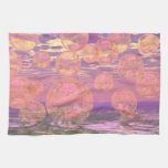 Glorious Skies – Pink and Yellow Dream Hand Towel