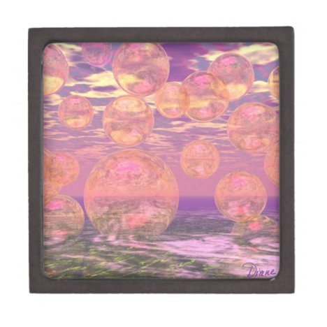 Glorious Skies – Pink and Yellow Dream Jewelry Box