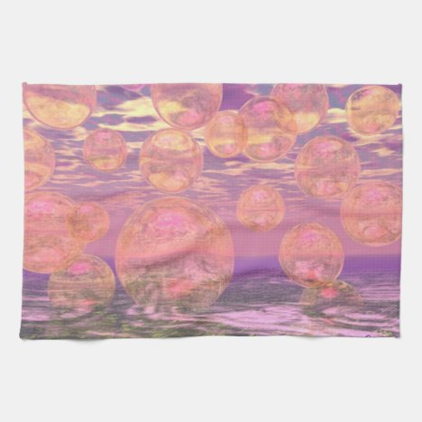 Glorious Skies – Pink and Yellow Dream Kitchen Towel