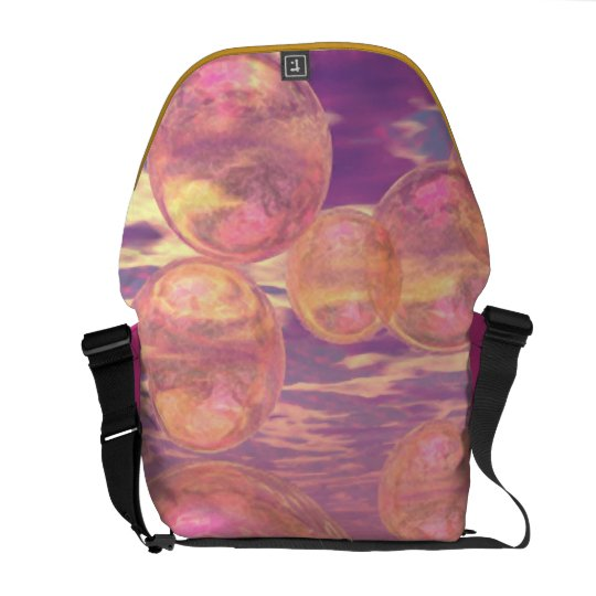 Glorious Skies – Pink and Yellow Dream Messenger Bag