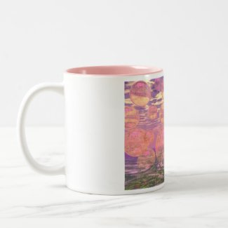 Glorious Skies – Pink and Yellow Dream mug