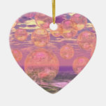 Glorious Skies – Pink and Yellow Dream Christmas Tree Ornaments