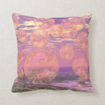 Glorious Skies – Pink and Yellow Dream Throw Pillow