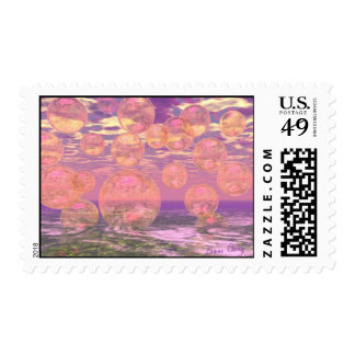 Glorious Skies – Pink and Yellow Dream Stamp