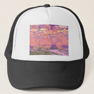 Glorious Skies – Pink and Yellow Dream Trucker Hat