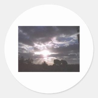 Glorious Sky Classic Round Sticker