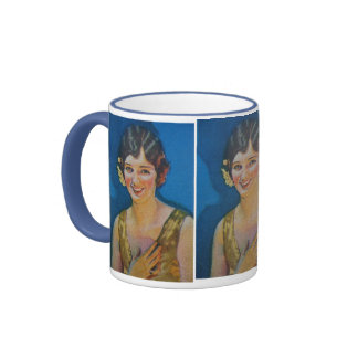 Glorious Smile Ringer Mug