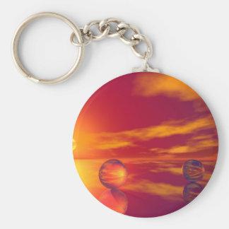 Glorious Sunset Keychain
