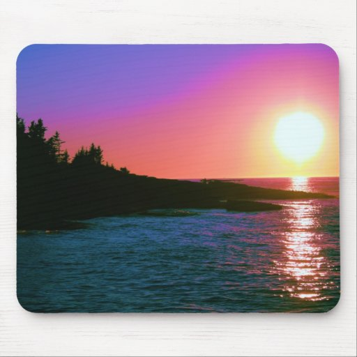 Glorious Sunset Mouse Pad