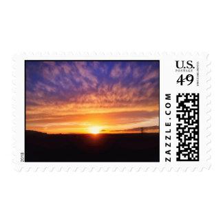 Glorious Sunset Postage Stamp