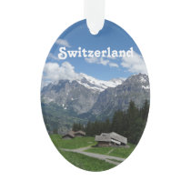 Glorious Switzerland Ornament