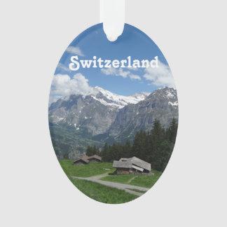 Glorious Switzerland Ornament