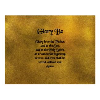 Glory Be Postcard