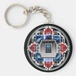 glory deco 2 basic round button keychain