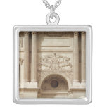 Glory distributing crowns, from the colonnade square pendant necklace