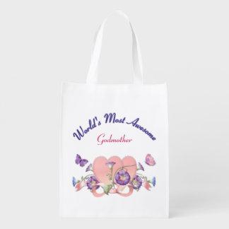 Glory Love for Godmother Designer Bag Grocery Bag
