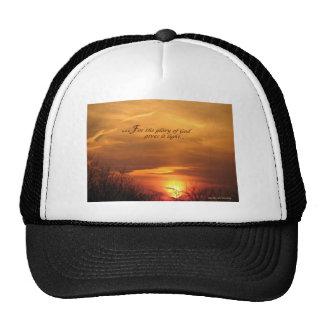 Glory of God Trucker Hats