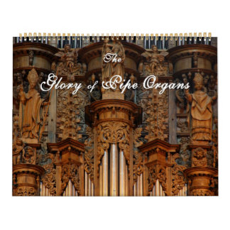 Glory of Pipe Organs Calendar