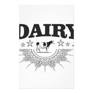 glory of the dairy stationery