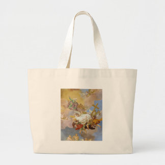 Glory of the New Born Christ by Daniel Gran Canvas Bags