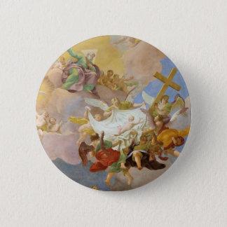 Glory of the New Born Christ by Daniel Gran Pinback Button