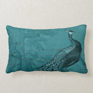 Glory of the Peacock #2 Throw Pillows