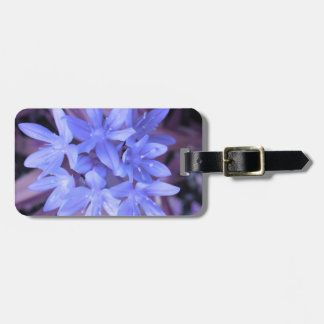 Glory of the Snow Blue Custom Luggage Tag