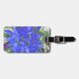 Glory of the Snow Fluorescent Blue Custom Luggage  Bag Tag