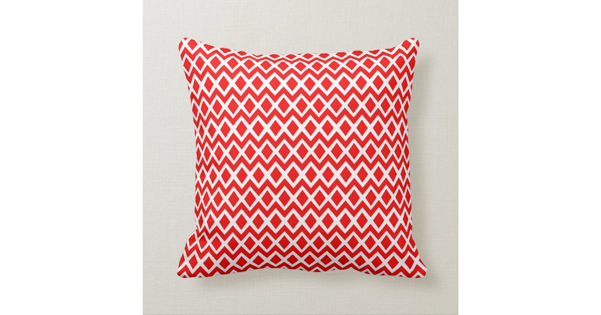 Red And Aqua Decorative Pillows : Turquoise And Red Throw Pillows