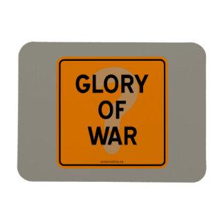 GLORY OF WAR? RECTANGULAR PHOTO MAGNET