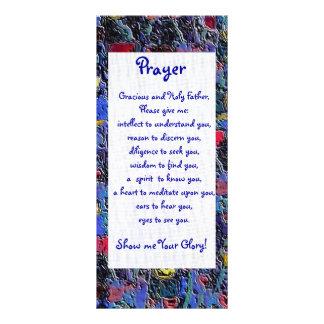 Glory Prayer Card Customized Rack Card