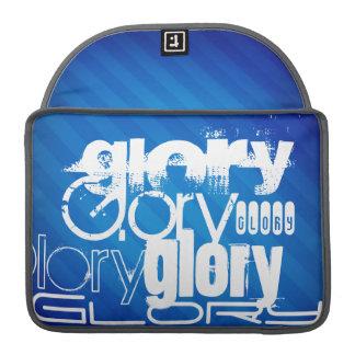 Glory; Royal Blue Stripes Sleeve For MacBook Pro