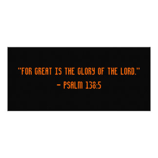 Glory to God Bookmark Full Color Rack Card