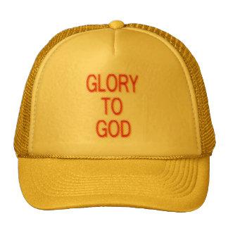 Glory to God Cap Trucker Hat