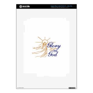 Glory To God iPad 3 Decal