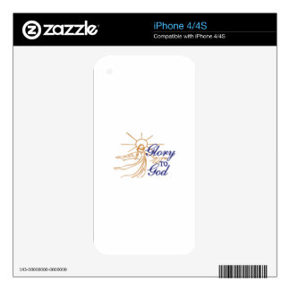 Glory To God iPhone 4S Decal