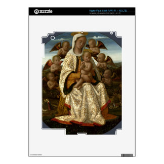 GLORY TO JESUS AND MARY DECAL FOR iPad 3