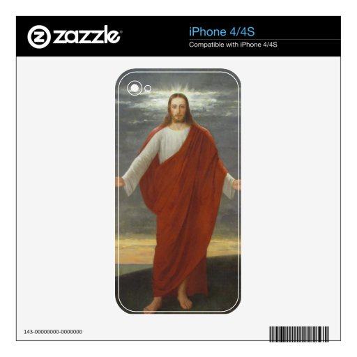 GLORY TO JESUS iPhone 4S SKIN