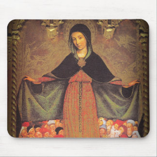 glory to our lady of mercy mouse pad