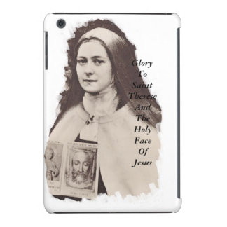 Glory To Saint Therese And The Holy Face Of Jesus iPad Mini Retina Cover