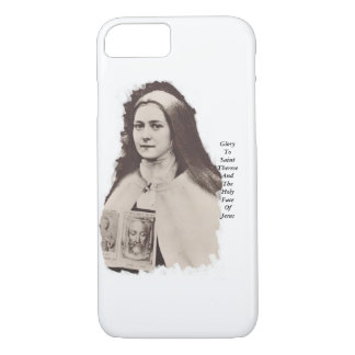 Glory To Saint Therese And The Holy Face Of Jesus iPhone 7 Case
