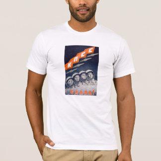 Glory To The CPSU - Soviet Space Propaganda T-Shirt