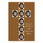 GLORY TO THE SACRED AND IMMACULATE HEARTS POSTER