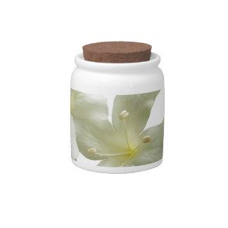 Glory Vine Flowers Candy Jar