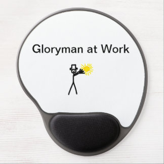 Gloryman at Work Gel Mouse Pads